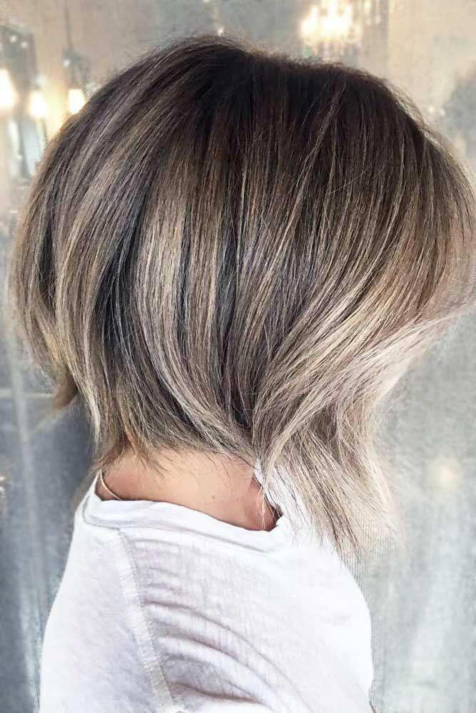 Trendy Ash Blonde Hair Color Shortombrehair Highlights Shorthair Bobhaircut Ashblondehair Ombr Short Ombre Hair Short Hair Balayage Blonde Bob Hairstyles