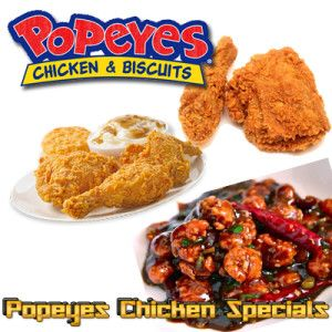 Coupons for popeyes chicken and biscuits