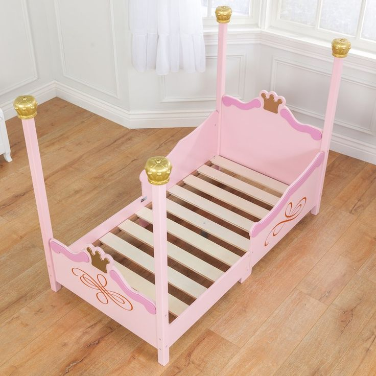 KidKraft Princess Toddler Bed - Pink