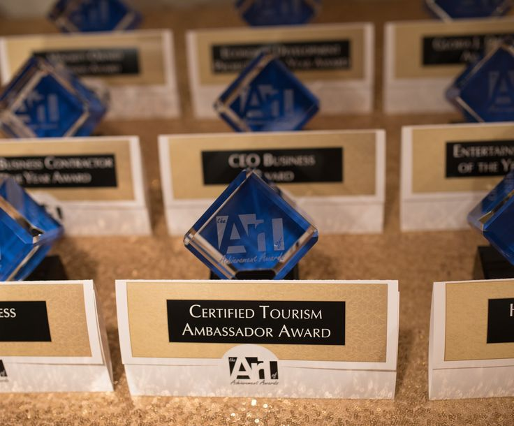 """Art of Achievements Awards Nov 2017 winners ~Our hotel won """"Hotel of the Year"""" for 2016 and we are looking forward to our NEW Hotel the Fairfield Inn & Suites by Marriott of Grand Blanc in Fall of 2018 - just in time for the main event ~ """"The Ally Challenge"""" a part of the PGA TOUR Champions"""