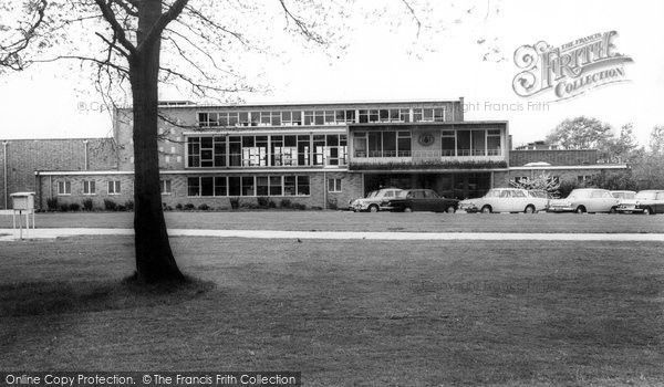 Burgess Hill, Oakmeeds School c.1965, from Francis Frith