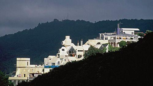 Ian Athfield - Khandallah hillside in Wellington (60's)