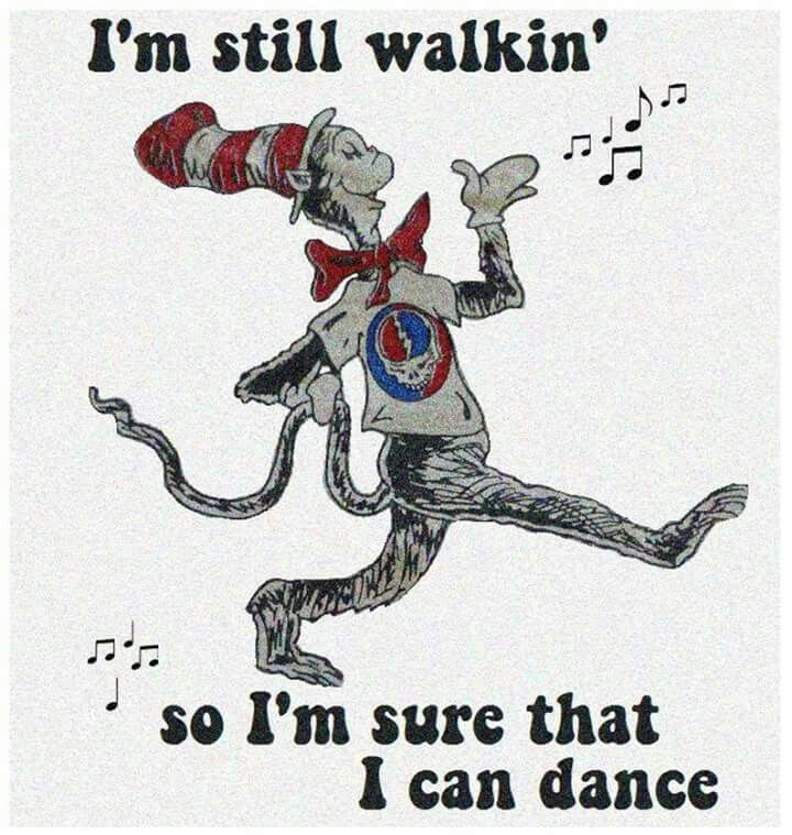 ☮ American Hippie Music ☮ Grateful Dead .. Cat in the Hat
