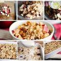 Как приготовить запеченная овсянка с яблоком и корицей - рецепт, ингридиенты и фотографии