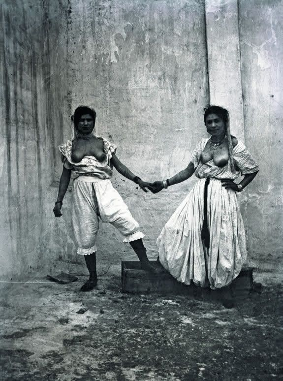 Prostituées, Alger, 1905