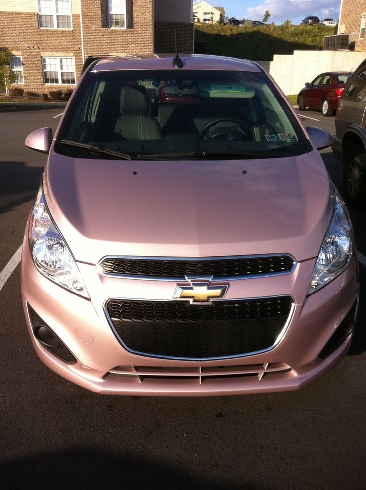 Chevy spark techno pink