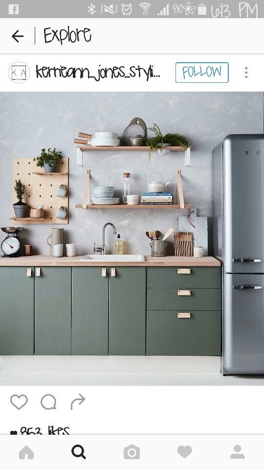 Colour of cupboards
