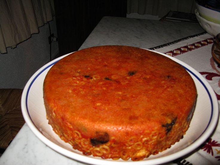 Pasta al forno....anelletti siciliani