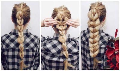 Peinados bonitos y f ciles con colas de caballo cola de - Peinados faciles y bonitos ...