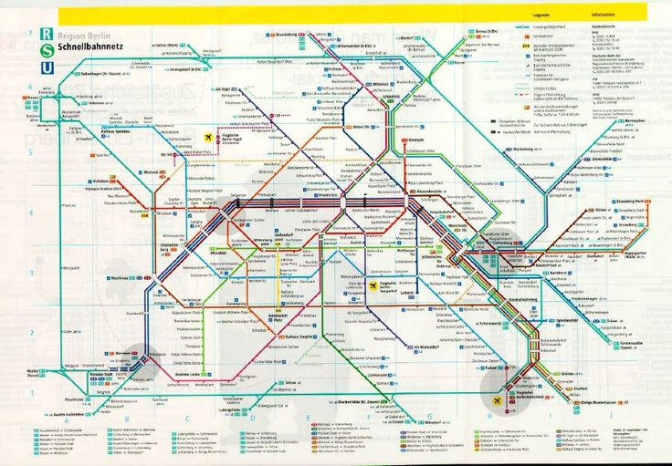 Berlin U-Bahn..it's how we got around.