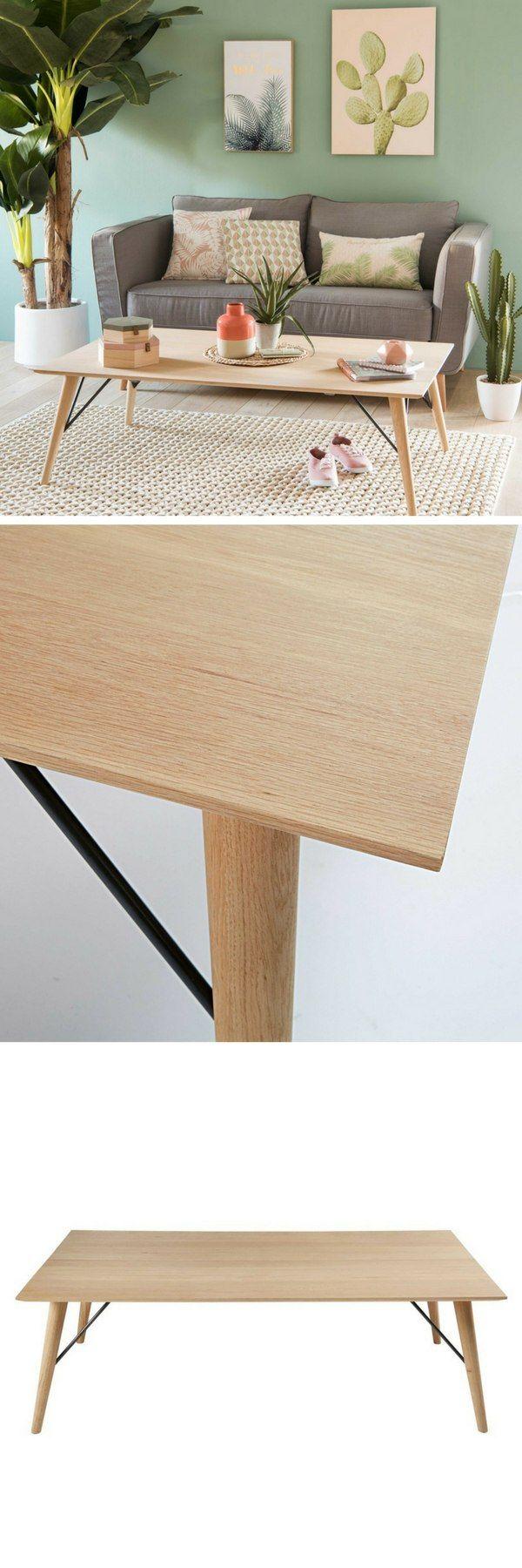 tables basses maison du monde trendy table basse indus en mtal noir edison with tables basses. Black Bedroom Furniture Sets. Home Design Ideas