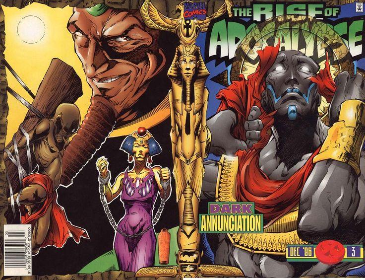 Rise of Apocalypse # 3 by Adam Pollina & Scott Koblish