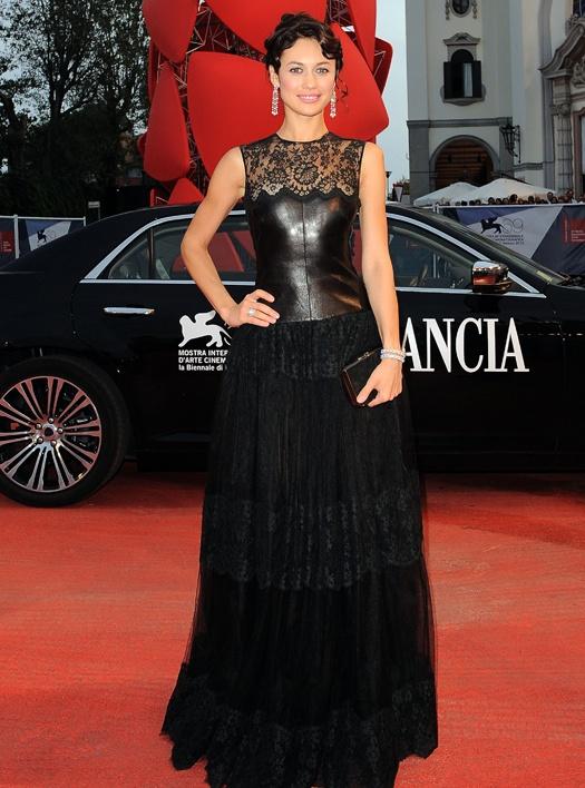 Ольга Куриленко на Венецианском фестивале