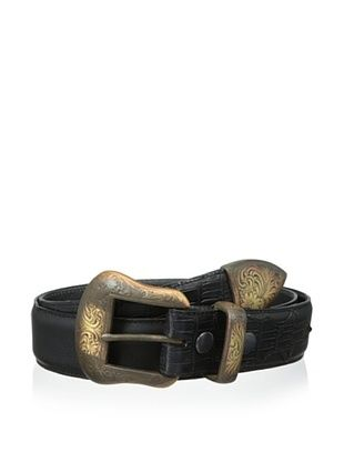 59% OFF Vintage Bison Men's Tuscon Belt (Black)