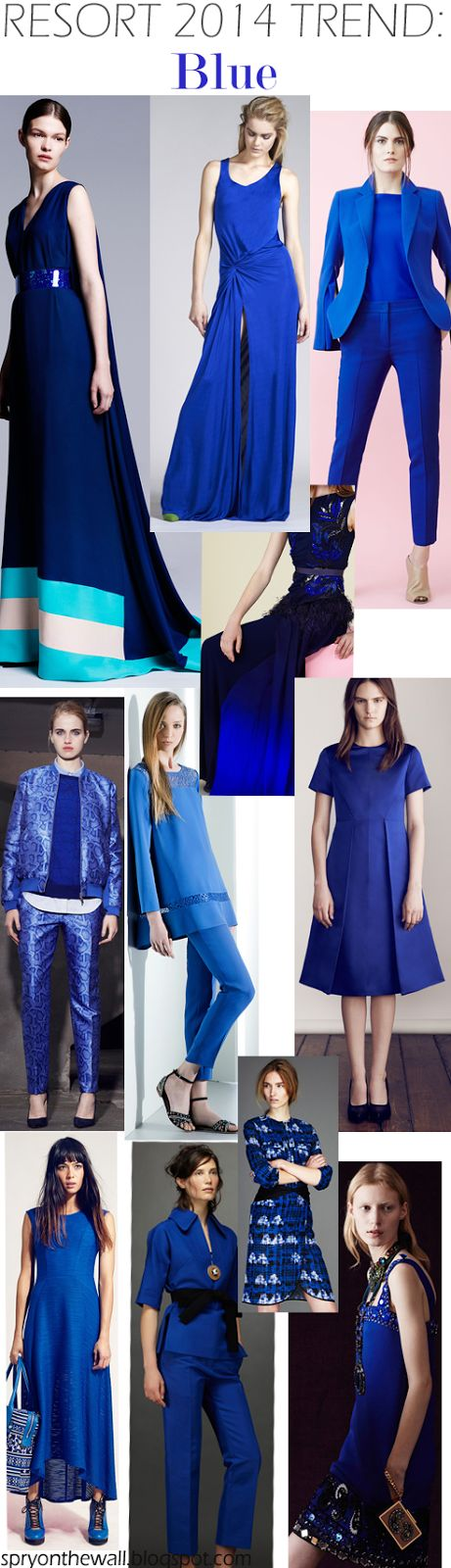 Spry On The Wall's Resort 2014 Trends - Color