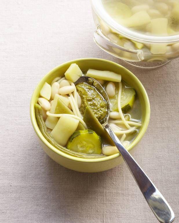 Ma soupe au pistou pour 6 personnes - Recettes Elle à Table