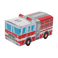 FIREMAN PARTY Fire Engine - Fire Truck - Treat box / Party Box
