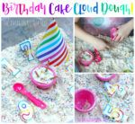 Make some deliciously scented birthday cake cloud dough for sensory play fun with preschoolers! We are huge fans of sensory play, with our best ever no-cook play dough recipe being our number one most popular article on the blog! Fabulous as play dough is, a close runner up in second place is cloud dough! Such...Read More »
