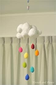rainbow crochet mobile - Google Search