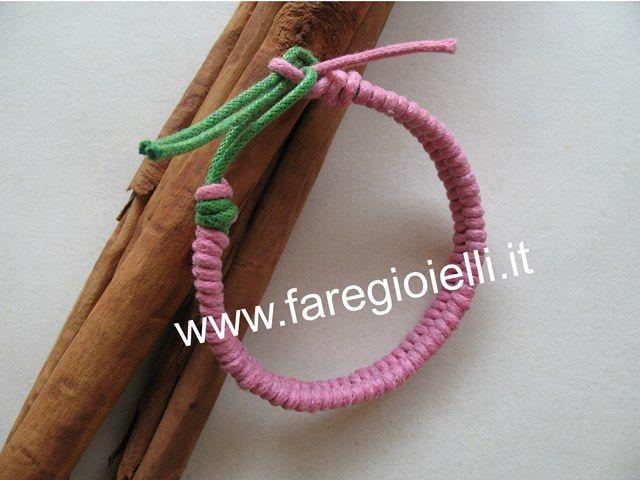 tutorial braccialetti intrecciati