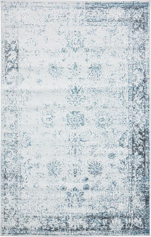 Sofia Light Blue Area Rug