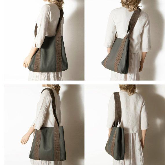 Winter cross body bag Cross body bag Gift for by ElenaVandelliBags
