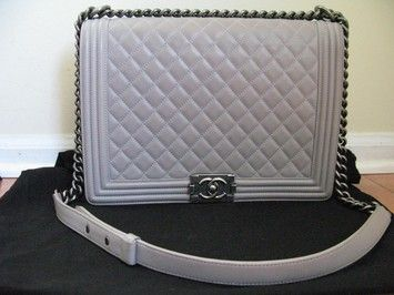 Chanel Le Boy Large Shoulder Bag. Get one of the hottest styles of the season! The Chanel Le Boy Large Shoulder Bag is a top 10 member favorite on Tradesy. Save on yours before they're sold out!