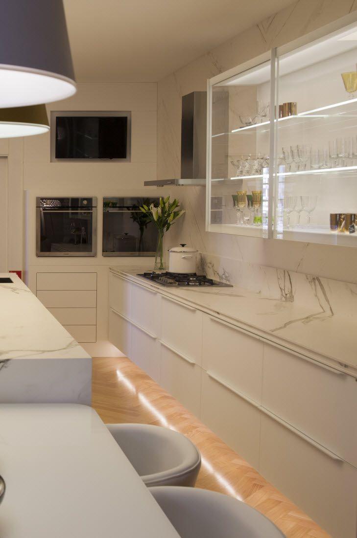 Kuchen Im Marmorlook Zeitlos Und Funktional Marmor Arbeitsplatte Und Kuche