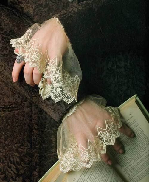 Dreamy Lace Sleeves