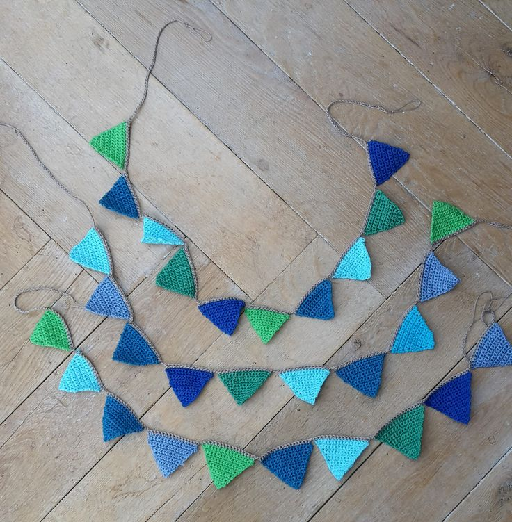 https://flic.kr/p/FJmX5Y | 16 Bunting | Bunting! Three lines with small triangles for charity. I hope some Rumanian boy will like them, to celebrate his birthday or maybe just to decorate his bed and  make it a more fun place to sleep :-)