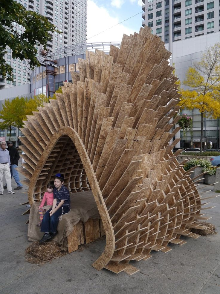 Harvest Wave · Collaborators: Andrew McGregor, Robert Miller, Teresa Cacho  · Year: 2012 Sukkahville Competition Finalist SECOND PLACE Featured In:  Chairs ...