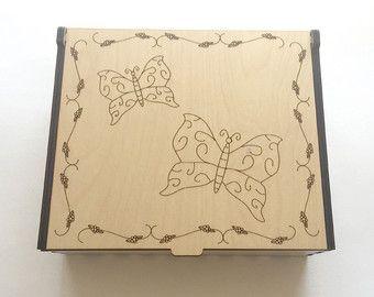 Mariposas de aceite esencial media caja, caja de almacenaje de aromaterapia, aceite esencial caso, organizador del aceite aromaterapia, aceites esenciales pantalla