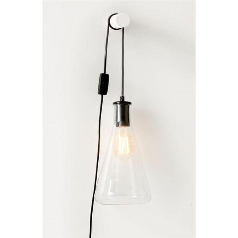 Flask Glass Lamp