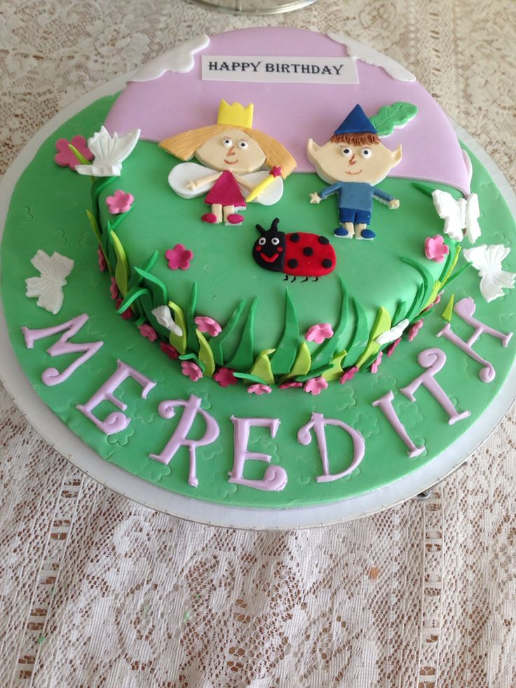 16 best images about Ben and Holly cake ideas on Pinterest ...