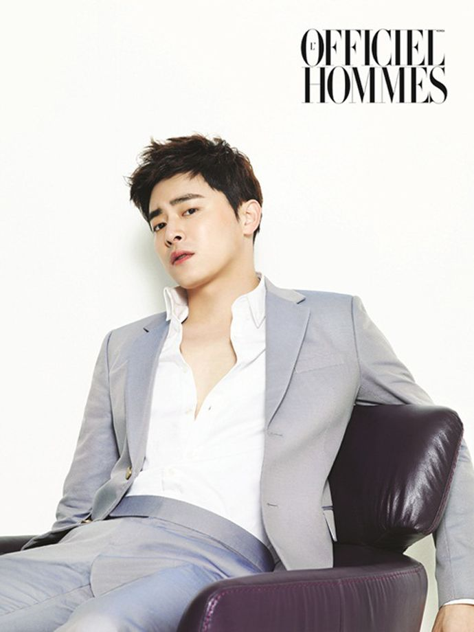 Jo Jung Seok - L'Officiel Hommes Magazine June Issue '14