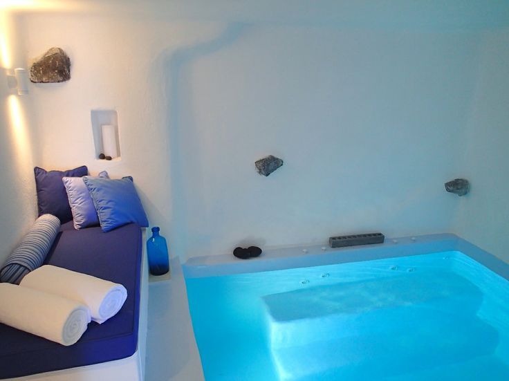 One of our in-suite heated and jetted grotto pools, a dream addition for a romantic getaway...