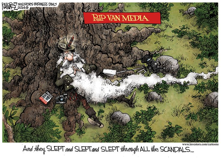 Michael Ramirez Cartoon 06/27/2014 - And They Slept...