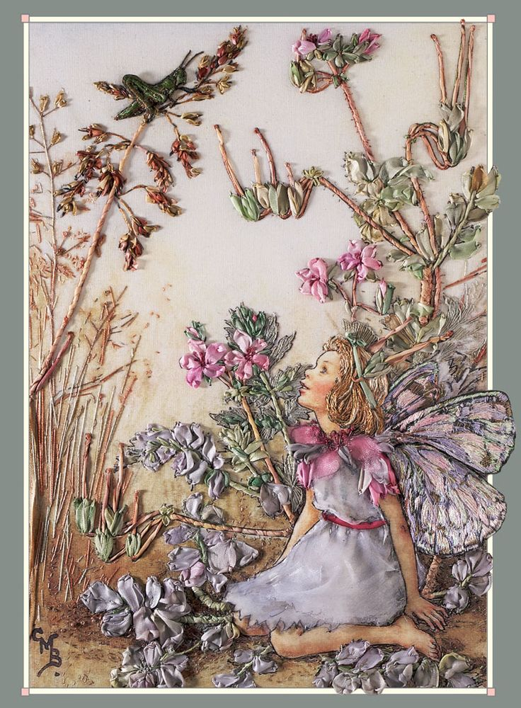 This beautiful Stork's Bill Fairy from my Flower Fairy book is a most enjoyable project for all Fairy lovers. Suitable for the beginner as the book teaches you step-by-step.
