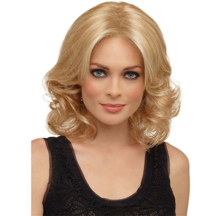 cheap mature wigs for women pastel blonde wig cosplay blond curly ombre wigs synthetic hair heat resistant wig long bob peluca