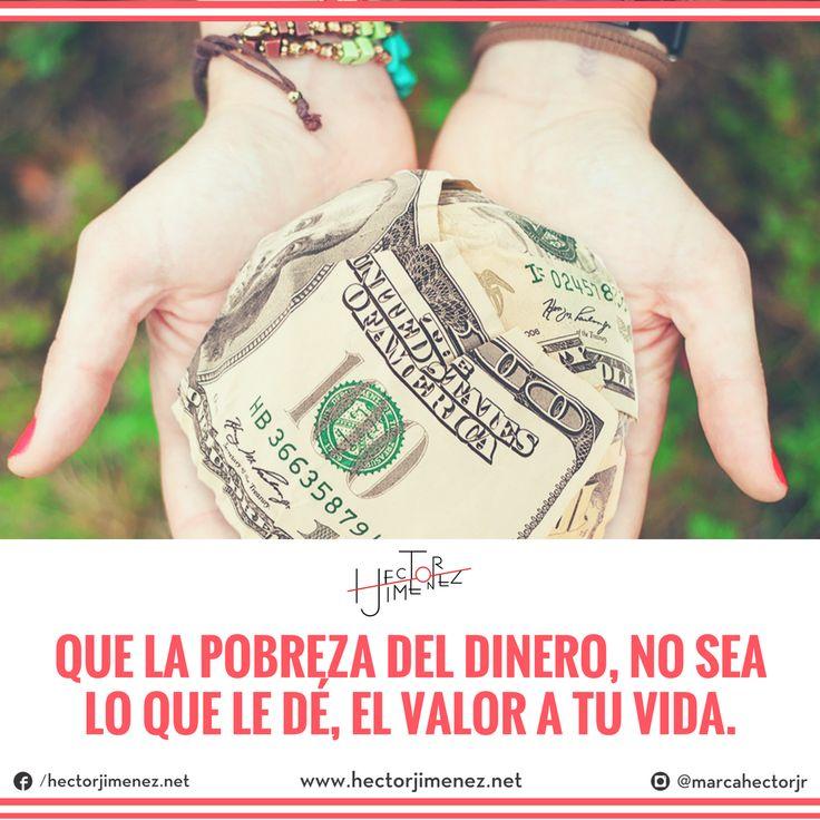 #LaFraseDeLaSemana para tu #MarcaPersonal: Algo que le debemos agradecer a la vida, es enseñarnos la diferencia del precio de las cosas y el valor de las personas. La invitación será a hacer un balance para dejar de permitir que el dinero no nos deje vivir la vida que queremos.