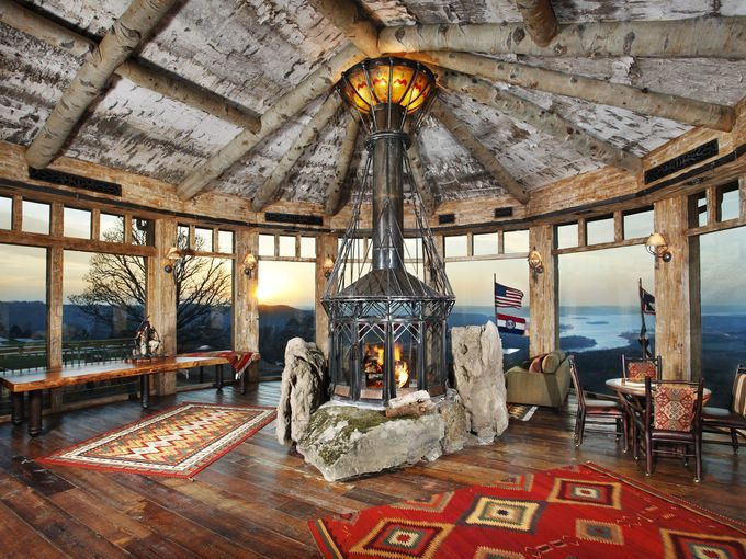 54 best Stone Fireplaces images on Pinterest