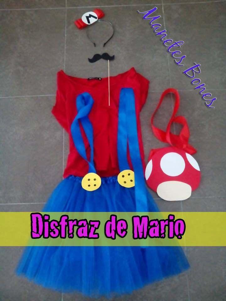 Disfraz de Mario para ella, disfraz de Luigi para él