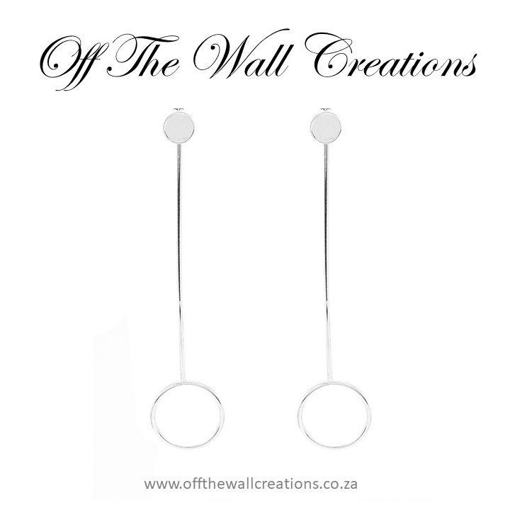 Type: Stud Earrings Back Finding: Screw-back Weight: 2.6g Length: 6.6cm Diameter: 1.6cm