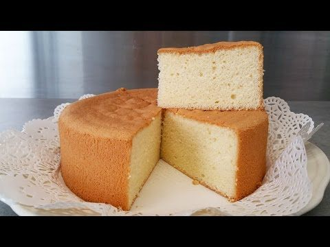 Sponge cake recipe for beginners - How to make soft cake from scratch - Easy to follow - YouTube