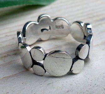 Echt zilveren ring