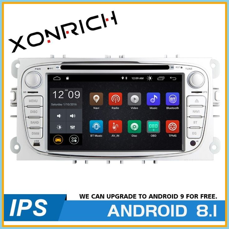 Top 2 din android 81 car multimedia player for ford focus