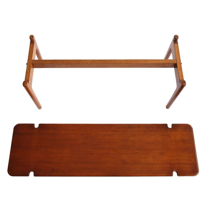 Minimalistic Hans J. Wegner Table Or Bench For Johannes Hansen