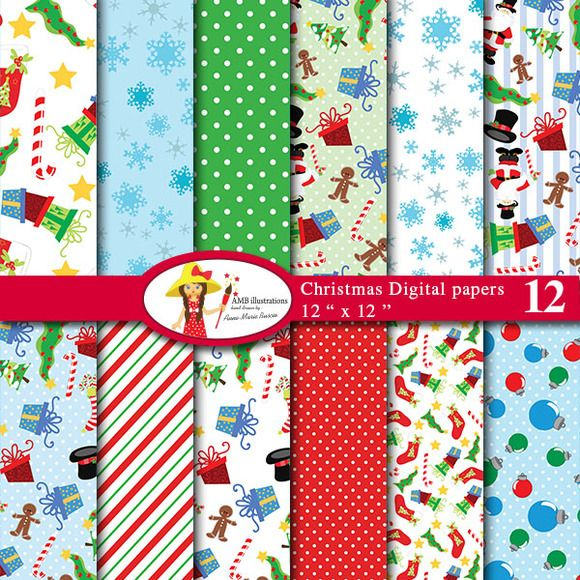Christmas Papers-512 - Patterns - 1