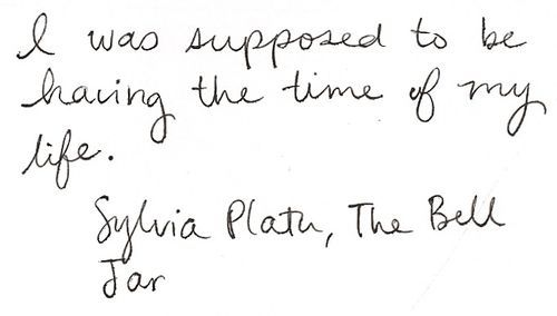 an analysis of the peoples lives and the bell jar by sylvia plath The bell jar is the only novel written by the american writer and poet sylvia plath  originally published under the pseudonym victoria lucas in 1963, the novel is  semi-autobiographical, with the names of places and people changed  41  mental health as a theme in the bell jar by sylvia plath 5 parallels between  plath's.