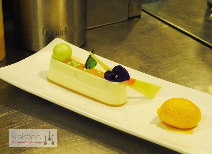 Mango Yuzu cheesecake